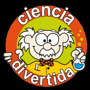 Logo ciencia divertida con profe